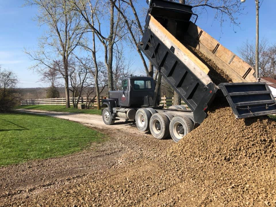 Rob's Trucking Gravel and Dirt Delivery in the Kansas City Metro Area