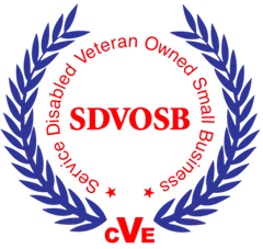 VA certified Service-Disabled Veteran-Owned Small Business (SDVOSB)